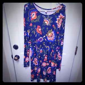 Old Navy Floral Fall Dress